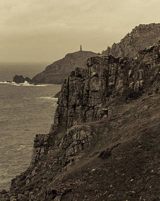 Photograph - Cape Cornwall by Kathryn Bell