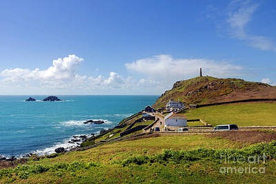 Photograph - Cape Cornwall View by Terri Waters