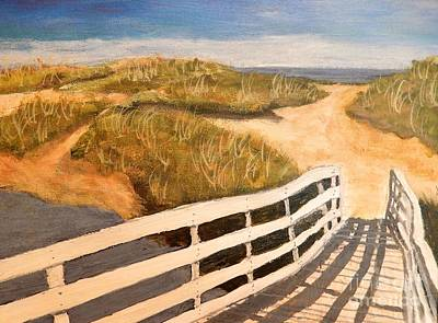 Cape Cod Painting - Cape Days by Sharon Eng
