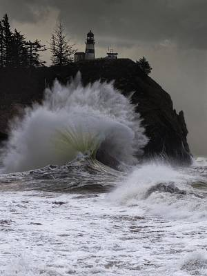 Photograph - Cape Disappointment 2 by Thomas Hall
