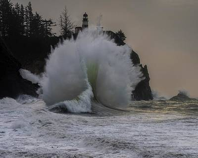 Photograph - Cape Disappointment 3 by Thomas Hall