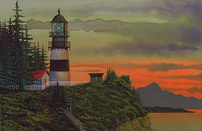 Graveyard Mixed Media - Cape Disappointment by James Lyman