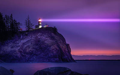 Photograph - Cape Disappointment Light by Dave Koch