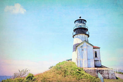 Photograph - Cape Disappointment Lighthouse by Jean OKeeffe Macro Abundance Art
