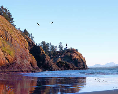 Photograph - Cape Disappointment Lighthouse by Jeanette Mahoney