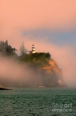 Photograph - Cape Disappointment Lighthouse by Jill Battaglia