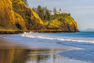 Cape Disappointment Lighthouse Art Print