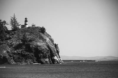 Cape Disappointment Lighthouse Print by Ralf Kaiser