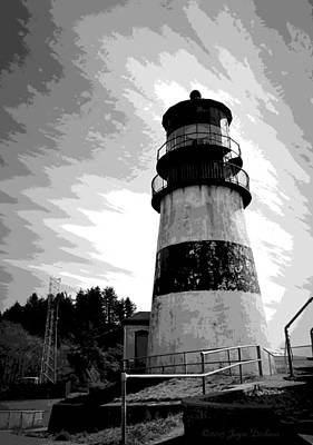 Photograph - Cape Disappointment Lighthouse Two  by Joyce Dickens