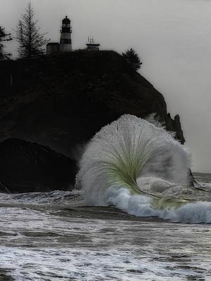 Photograph - Cape Disappointment by Thomas Hall