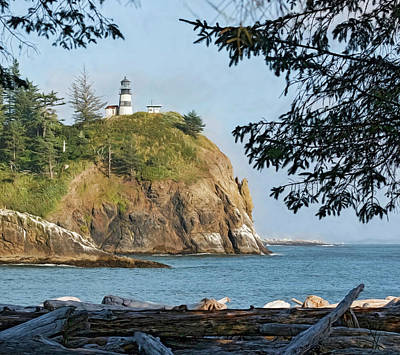 Photograph - Cape Disappointment by Wes and Dotty Weber