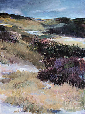 Art Print featuring the painting Cape Dune by Diane Ursin