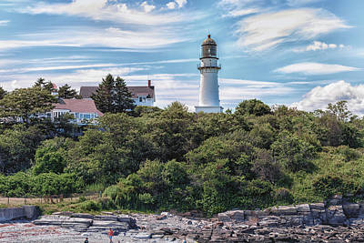 Photograph - Cape Elizabeth Lighthouse by Brian MacLean
