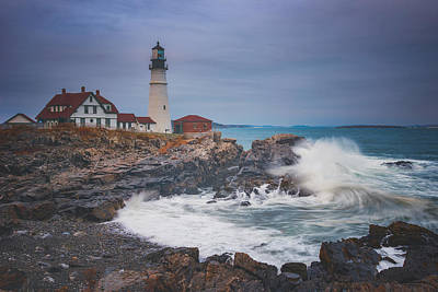 Photograph - Cape Elizabeth Storm by Darren White