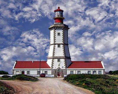 Photograph - Cape Espichel Lighthouse by Anthony Dezenzio