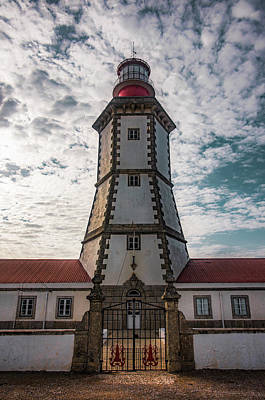 Photograph - Cape Espichel Lighthouse by Carlos Caetano