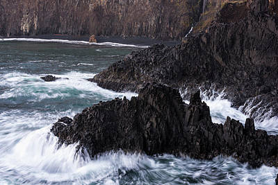 Photograph - Cape Falcon Basalt by Robert Potts