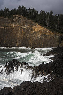 Photograph - Cape Falcon Cove by Robert Potts