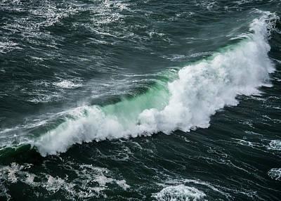Photograph - Cape Falcon Wave by Robert Potts