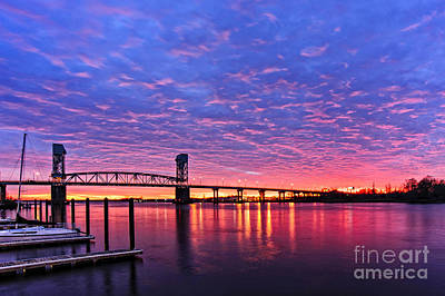 Cape Fear Bridge1 Art Print