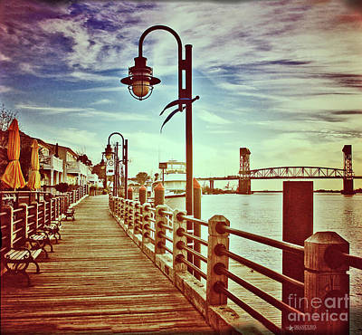 Art Print featuring the photograph Cape Fear River Front by Phil Mancuso