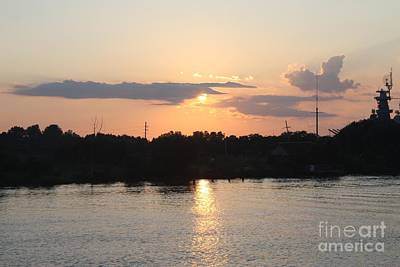 Photograph - Sunset Over Cape Fear River North Carolina by John Telfer
