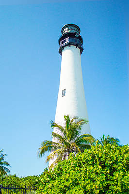 Photograph - Cape Florida Lighthouse 03 by Gene Norris