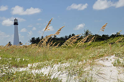 Bill Baggs Photograph - Cape Florida by Kelly Wade