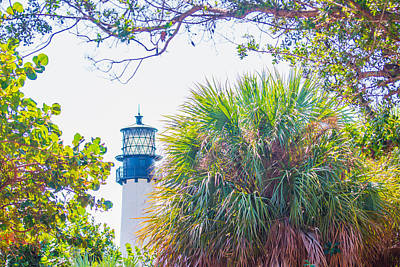 Photograph - Cape Florida Lighthouse 04 by Gene Norris