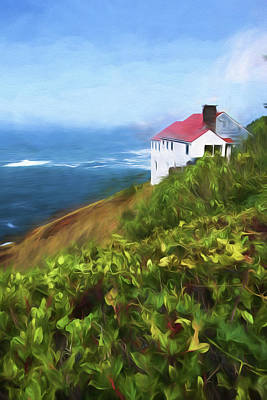 Painting - Cape Foulweather by Bonnie Bruno
