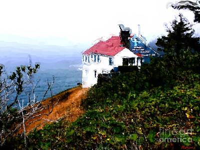 Painting - Cape Foulweather by Methune Hively