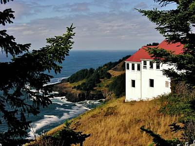 Marilyn Photograph - Cape Foulweather Point by Marilyn Smith