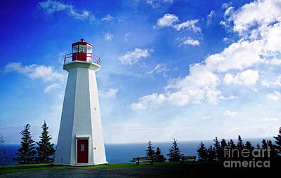 Photograph - Cape George Lighthouse by Scott Kemper