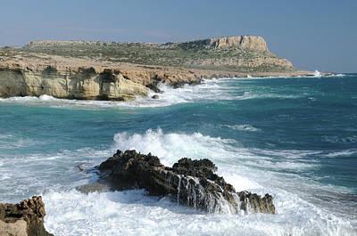 Photograph - Cape Greco, Ayia Napa by Jeremy Voisey
