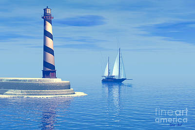 Cape Hatteras Art Print by Corey Ford