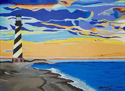 Painting - Cape Hatteras by Donna Blossom
