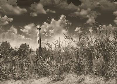 Cape Hatteras Lighthouse 3 Art Print