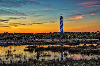 Photograph - Cape Hatteras Lighthouse by Donald Brown