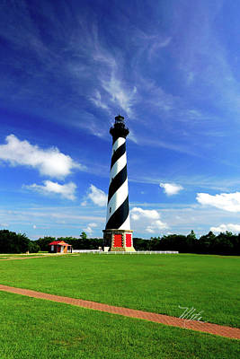 Print featuring the photograph Cape Hatteras Lighthouse by Meta Gatschenberger