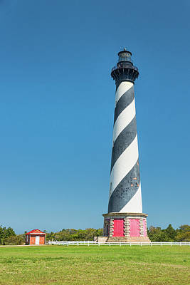Photograph - Cape Hatteras Lighthouse by Victor Culpepper
