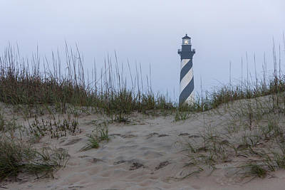Photograph - Cape Hatteras Over The Dunes by Liza Eckardt