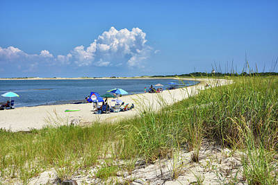 Photograph - Cape Henlopen State Park - Beach Time by Brendan Reals