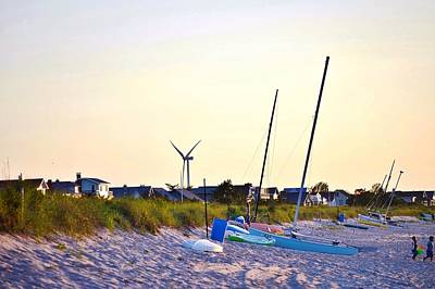 Photograph - Cape Henlopen Beach Scene by Kim Bemis