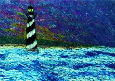 Cape Hetteras Light House Art Print by Jeanette Stewart