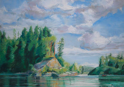 Painting - Cape Horn by Synnove Pettersen