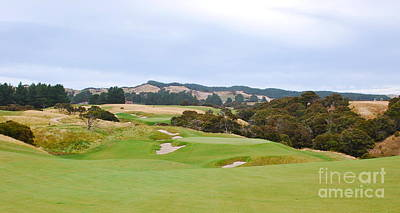 Photograph - Cape Kidnappers  1 Golf Course New Zealand  by Jan Daniels