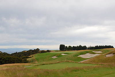 Photograph - Cape Kidnappers  2 Golf Course New Zealand  by Jan Daniels