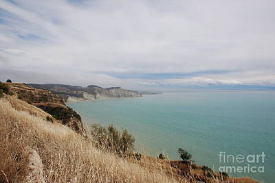 Art Print featuring the photograph Cape Kidnappers Golf Course New Zealand by Jan Daniels