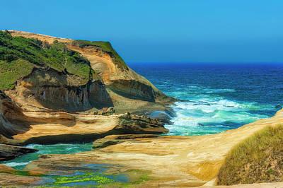 Photograph - Cape Kiwanda Cliffs  by Dee Browning