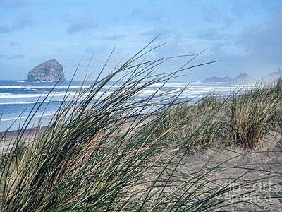 Photograph - Cape Kiwanda by Peggy Hughes